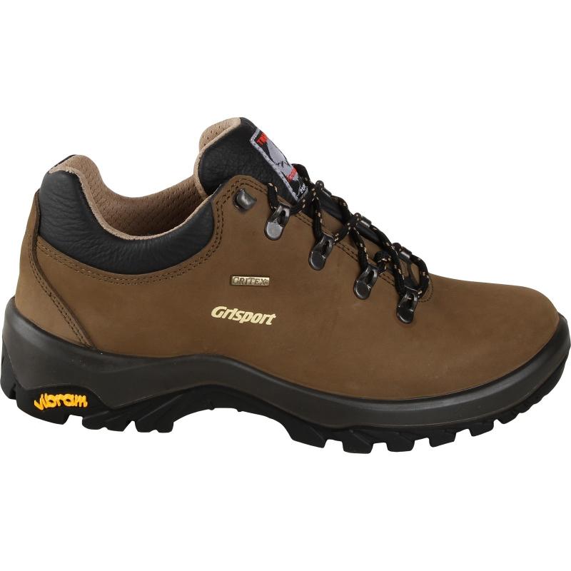 Pánska turistická obuv nízka GRISPORT-Finele - Pánska turistická obuv s celokoženým zvrškom.