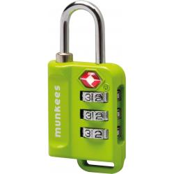 Prívesok na kľúče MUNKEES TSA Zámok číselný ES