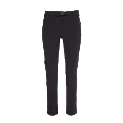 Dámske turistické softshellové nohavice BERG OUTDOOR-MIDI-WOMEN-Black