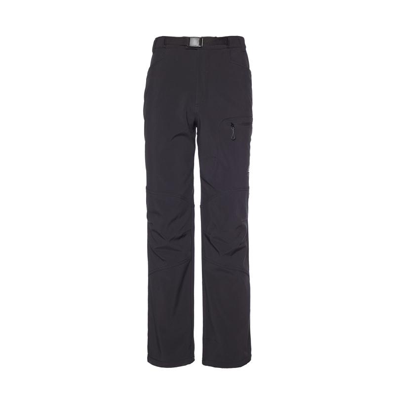 b603e2e22c01 Pánske turistické softshellové nohavice BERG OUTDOOR-ELBRUS-MEN-Black