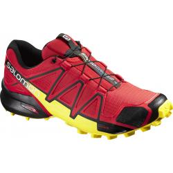 Pánska trailová obuv SALOMON-SPEEDCROSS 4 RADIANT RED/Black/YE
