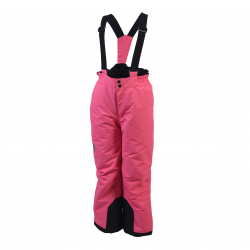 Dievčenské lyžiarske nohavice COLOR KIDS-Salix ski pants-Pink