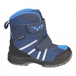 Chlapčenská zimná obuv vysoká COLOR KIDS-Kora boots blue 12395b4b3a0