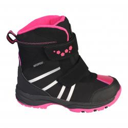 9f4e8006e7f7 Dievčenská zimná obuv vysoká COLOR KIDS-Kora boots black