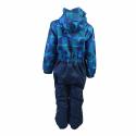 Chlapčenský zimný overal COLOR KIDS-Klement padded coverall-Blue dark - Detský lyžiarsky overal značky Color kids v modernom a zároveň funkčnom dizajne.