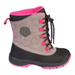 48a7302b31fc Dievčenská zimná obuv vysoká COLOR KIDS-Klea boots pink