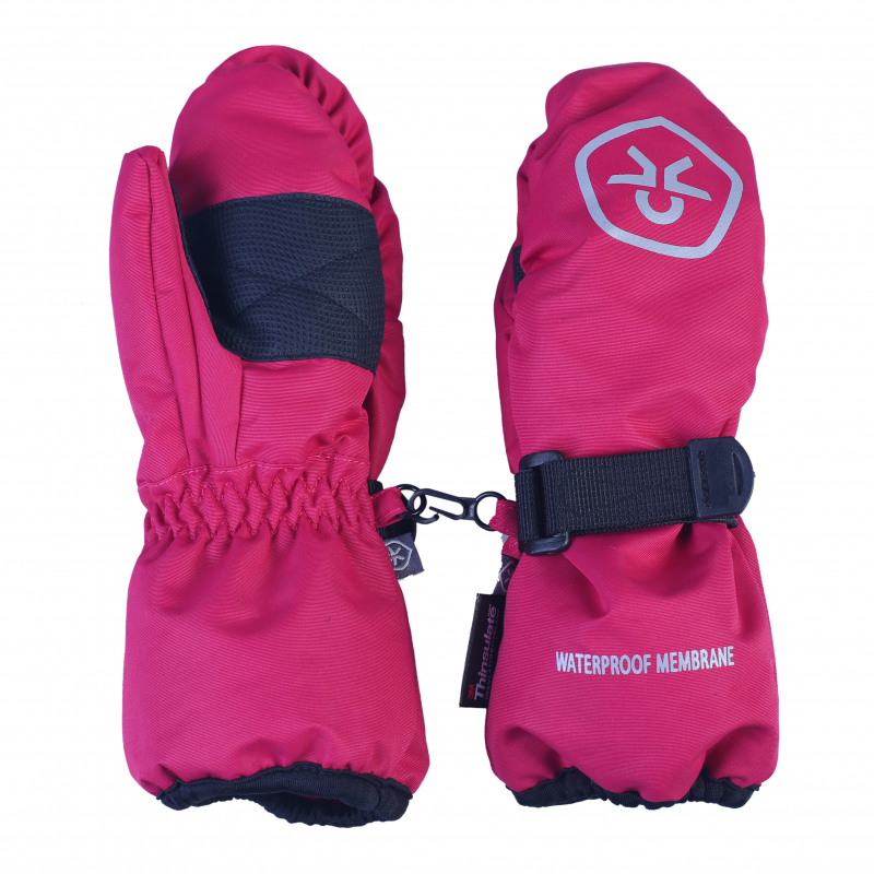 62c7c2855ca Detské rukavice COLOR KIDS-Kombie mittens pink - Detské rukavice značky  Color kids.