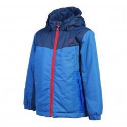 Chlapčenská bunda COLOR KIDS-Kelli padded jacket-Blue dark
