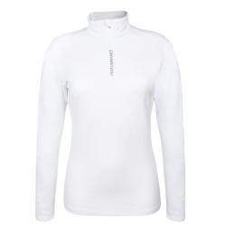 Dámske tričko s dlhým rukávom AUTHORITY-DRY4W white aw17