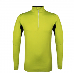 Pánske tričko s dlhým rukávom AUTHORITY-DRY4M neon