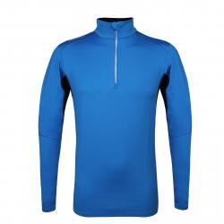Pánske tričko s dlhým rukávom AUTHORITY-DRY4M blue aw17
