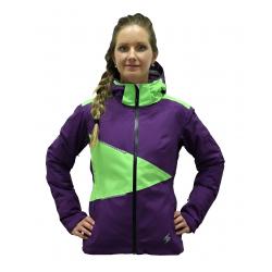 BLIZZARD Viva Performance Ski Jacket purple/lime green