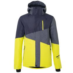Pánska lyžiarska bunda BRUNOTTI-Idaho Men Snowjacket-Grey dark