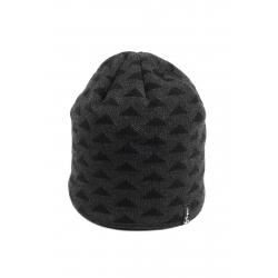 Pánska zimná čiapka ALICE-FC1728 GREY/BLACK
