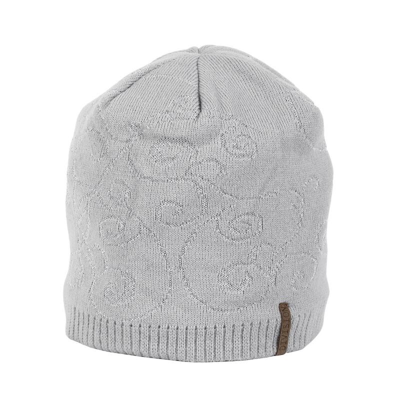 e066ca555 Dámska zimná čiapka ALICE DC1709 GREY - Dámska pletená čiapka značky Alice  v trendy dizajne.