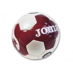 Futbalová halová lopta JOMA SQUADRA WHITE/RED veľ.5