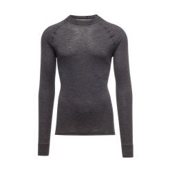 Pánske termo tričko s dlhým rukávom THERMOWAVE-ALPINE SKIN-MEN-Carbone-Black