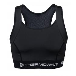 Tréningová športová podprsenka THERMOWAVE-PRIME-WOMEN-bra-Black