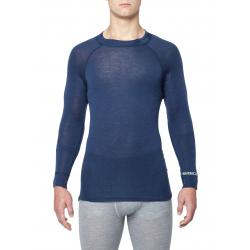 Pánske termo tričko s dlhým rukávom THERMOWAVE-MERINO WARM-Men-L-sleeve-Blue dark