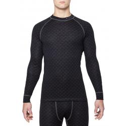 Pánske termo tričko s dlhým rukávom THERMOWAVE-MERINO XTREME-Men-L-sleeve-Black