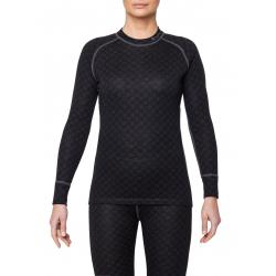 Dámske termo tričko s dlhým rukávom THERMOWAVE-MERINO XTREME-Women-L-sleeve-Black