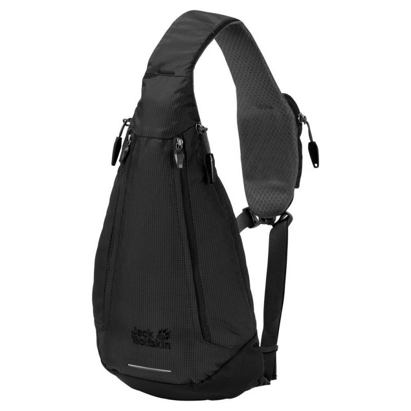 02477e0357 Ruksak JACK WOLFSKIN-Delta Bag black - Unisex menší batoh značky Jack  Wolfskin v štýlovom