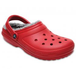 Rekreačná obuv CROCS-Classic Lined Clog Ppr/Sil