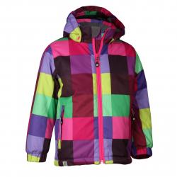 Dievčenská lyžiarska bunda COLOR KIDS-Kallion ski jacket-GIRLS-Mix