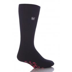 Pánske ponožky HEAT HOLDERS-Pánske ponožky protišmykové čierno/červené