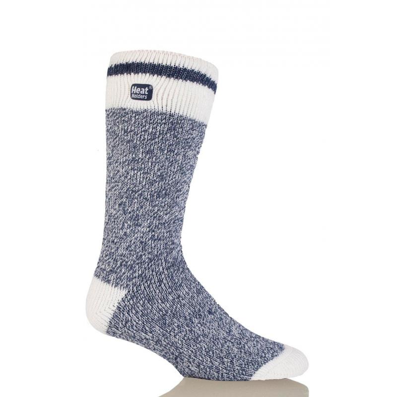 Pánske ponožky HEAT HOLDERS-Pánske ponožky Cream melír modrá - Pánske  ponožky značky Heat Holders 8a5ee99950