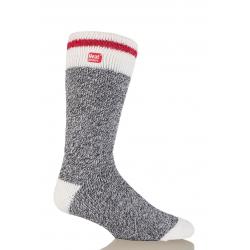 Pánske ponožky HEAT HOLDERS-Pánske ponožky Cream melír šedá