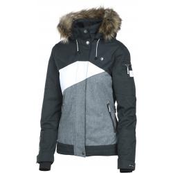Dámska lyžiarska bunda REHALL JESSIE-R-fur Snowjacket-Black