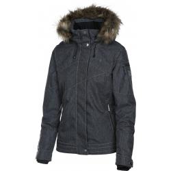 Dámska lyžiarska bunda REHALL JESSIE-R-fur Snowjacket-Blue dark