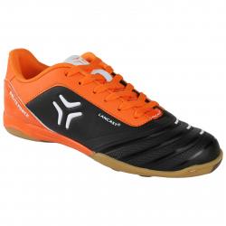 Pánske futbalové kopačky halové LANCAST BRUTE FORCE M IC black-orange