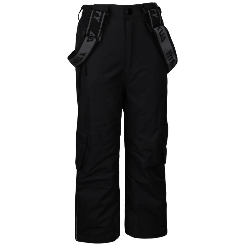 70a644042c86 Detské lyžiarske nohavice AUTHORITY-KIDD P black - Detské lyžiarske nohavice  značky Authority.