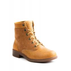 Dámska zimná obuv vysoká KODIAK-ACADIA SHEARLING/LTHR CARAMEL