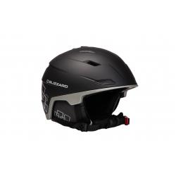 Lyžiarska prilba BLIZZARD DOUBLE ski helmet, black matt/gun metal/silver s