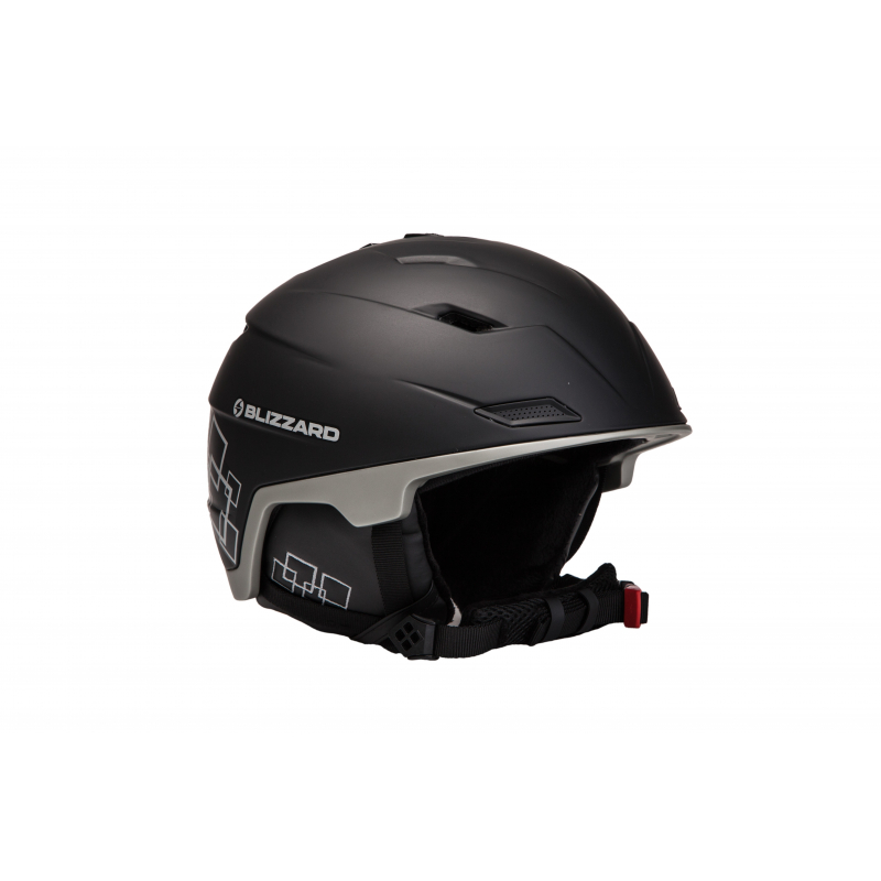 1845d6b4c Lyžiarska prilba BLIZZARD DOUBLE ski helmet, black matt/gun metal/silver s
