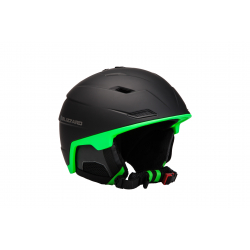 Lyžiarska prilba BLIZZARD DOUBLE ski helmet, black matt/neon green,