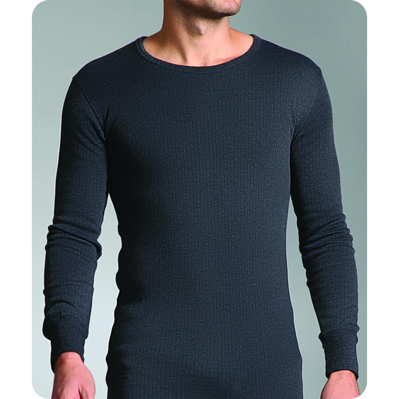 8f7cbffe7 Pánske termo tričko s dlhým rukávom HEAT HOLDERS Pánske tričko s dlhým  rukávom - nátelník šed