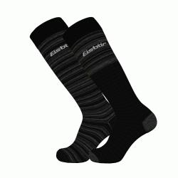 Športové ponožky EISBÄR SKI COMFORT 2 PACK BLACK/GREY