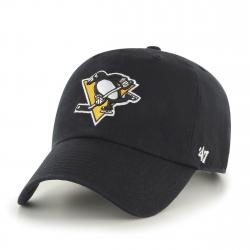 Šiltovka 47BRAND Clean Up Pittsburgh Pinguins Black