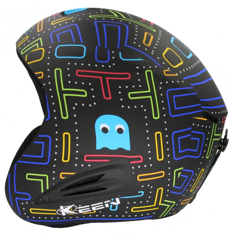 Lyžiarska prilba KEEN Detska helma - pacman - Kvalitná detská helma značky  KEEN s farebnou grafikou 26ed9f376d3
