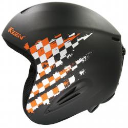 Lyžiarska prilba KEEN Detska helma - grey-orange
