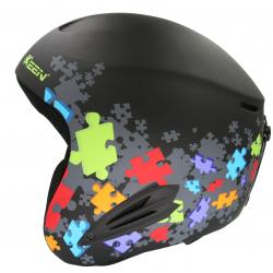Lyžiarska prilba KEEN Detska helma - puzzle