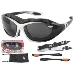 Multifunkčné lyžiarske okuliare KEEN Freeze line - white/black