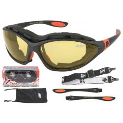 Multifunkčné lyžiarske okuliare KEEN Freeze line - grey mat