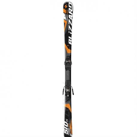 Carvingové lyže BLIZZARD Power RX 510 Ti IQ, black/orange, - Unisex lyže značky Blizzard určené pre výkonnostných športových lyžiarov.