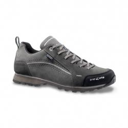 Pánska turistická obuv nízka TREZETA-FLOW WP GREY ANTHRACITE