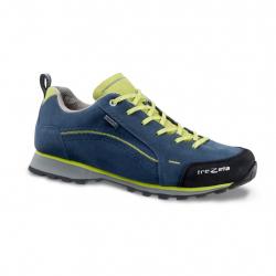 Pánska turistická obuv nízka TREZETA-FLOW WP BLUE GREEN